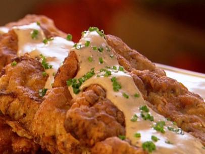 Chicken Fried Steak Recipe Bobby Flay Food Network