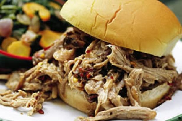 North Carolina-Style BBQ Pulled-Pork Sandwiches image