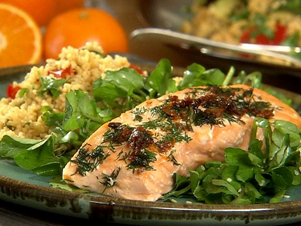 Citrus baked salmon recipe danny boome food network citrus baked salmon forumfinder Gallery