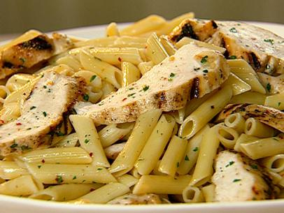 Easy lemon pasta with chicken recipe the neelys food network forumfinder
