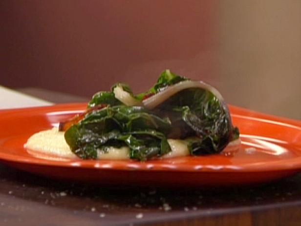 Sauteed Swiss Chard with Bacon