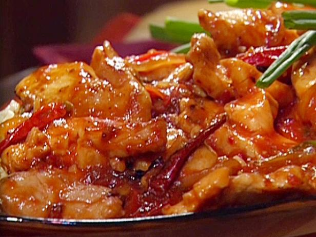 Sweet and Hot Pepper Chicken, Asian-Style