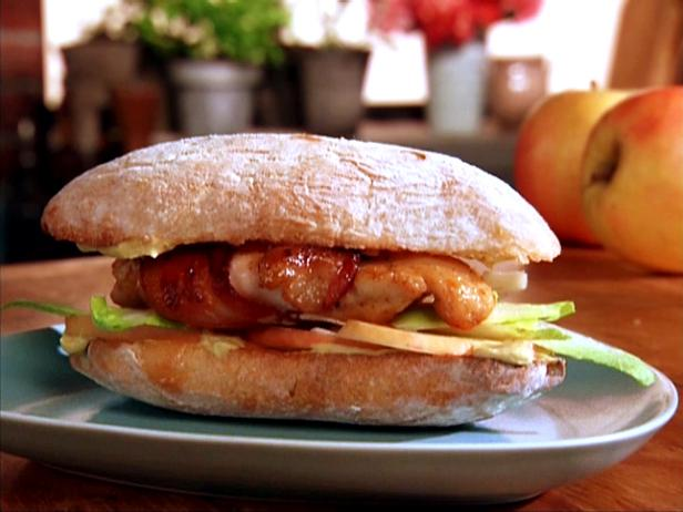 Bacon-Wrapped Chicken Sandwich