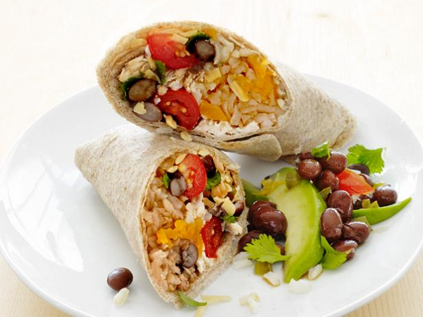 Chicken And Bean Burritos Recipe Food Network Kitchen Food Network