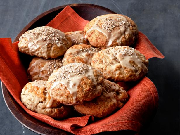 Maple-Oatmeal Scones