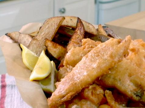 Tilapia Fish and Chips