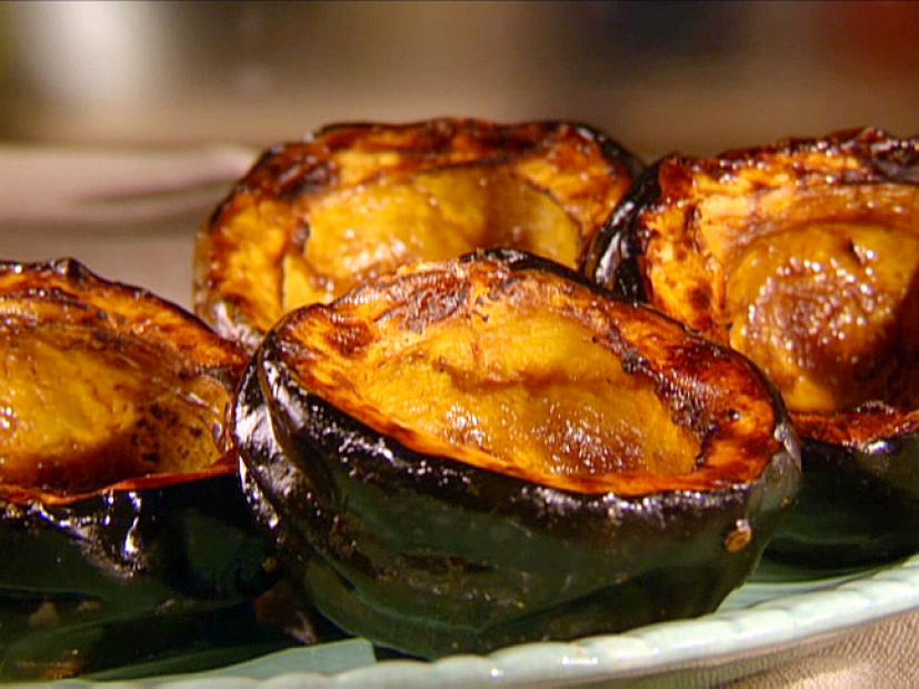 Sweet Roasted Acorn Squash Recipe Sunny Anderson Food Network