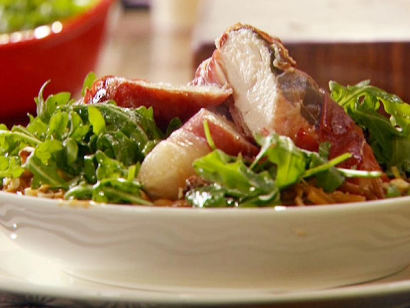 Oven Roasted Chicken Tenders Saltimbocca Recipe Rachael Ray Food