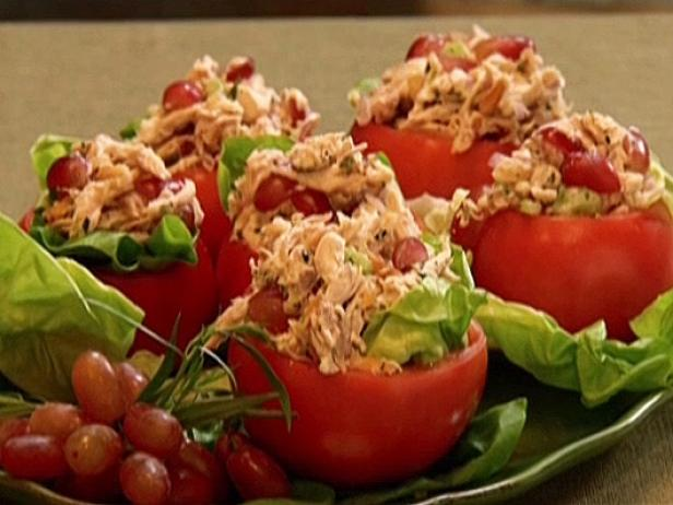 Neely's Chicken Salad in Tomato Cups