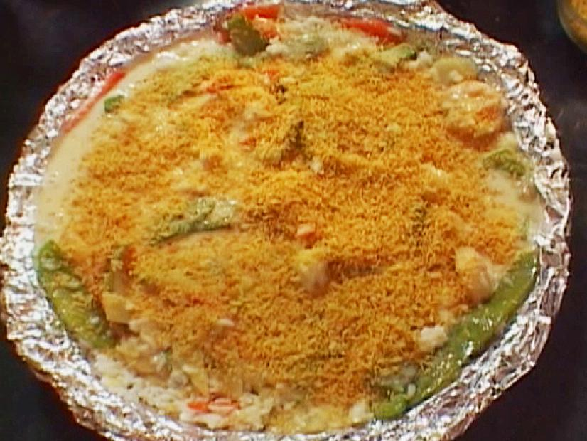Garlic Shrimp Casserole Recipe Alton Brown Food Network