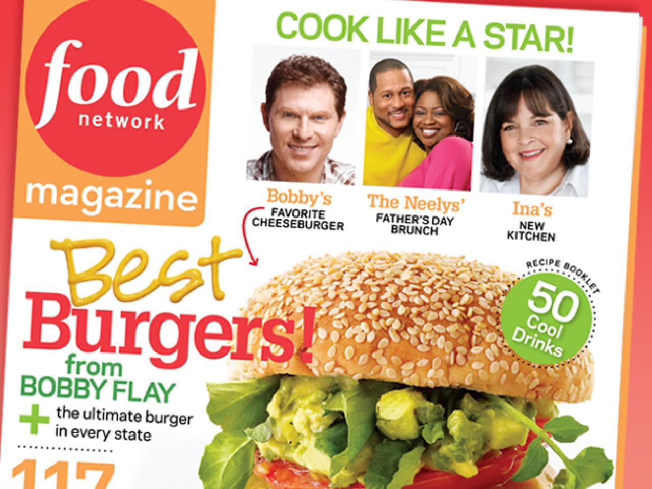 food network magazine june july 2009 recipe index recipes and