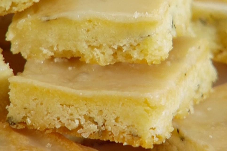Lemon Thyme Bars Food Network