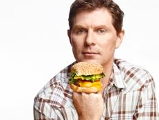 Bobby Flay has three new burger joints, a new burger cookbook and — lucky for us — all the secrets to building a perfect burger.