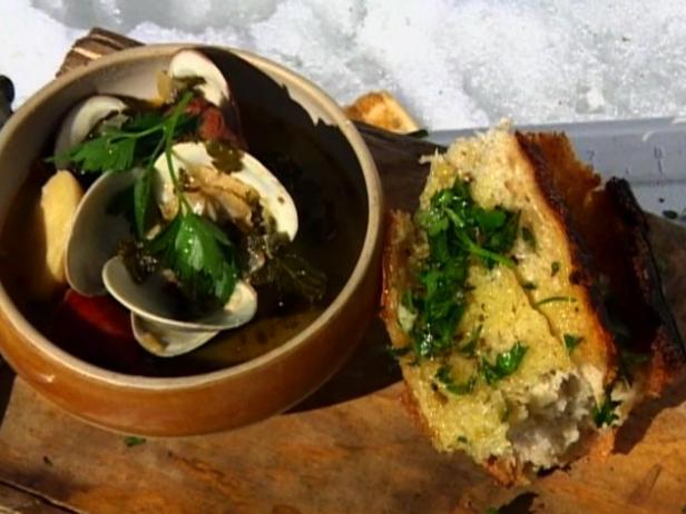 Portuguese fish stew recipe tyler florence food network for Portuguese fish stew