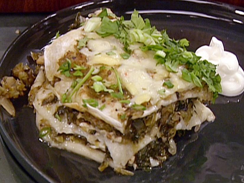 Green Chicken And Cheese Enchiladas Recipe Food Network