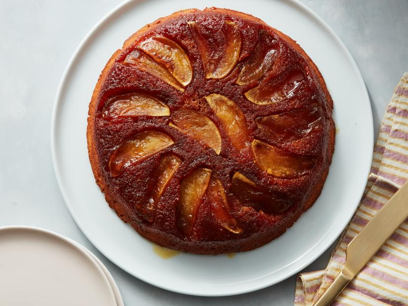 Apple Cake Tatin Recipe Ina Garten Food Network,Brown Blue Gray Color Scheme
