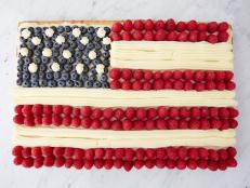 This Independence Day, celebrate the stars and stripes with these patriotic flag desserts.