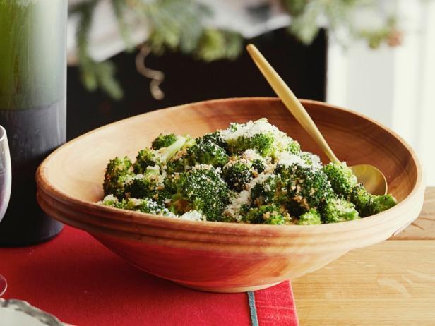 Oven roasted broccoli recipe alton brown food network oven roasted broccoli forumfinder Choice Image