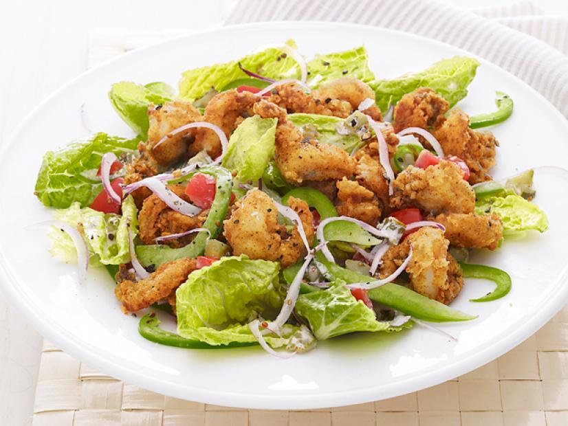 Popcorn Shrimp Salad Recipe Food Network Kitchen Food Network