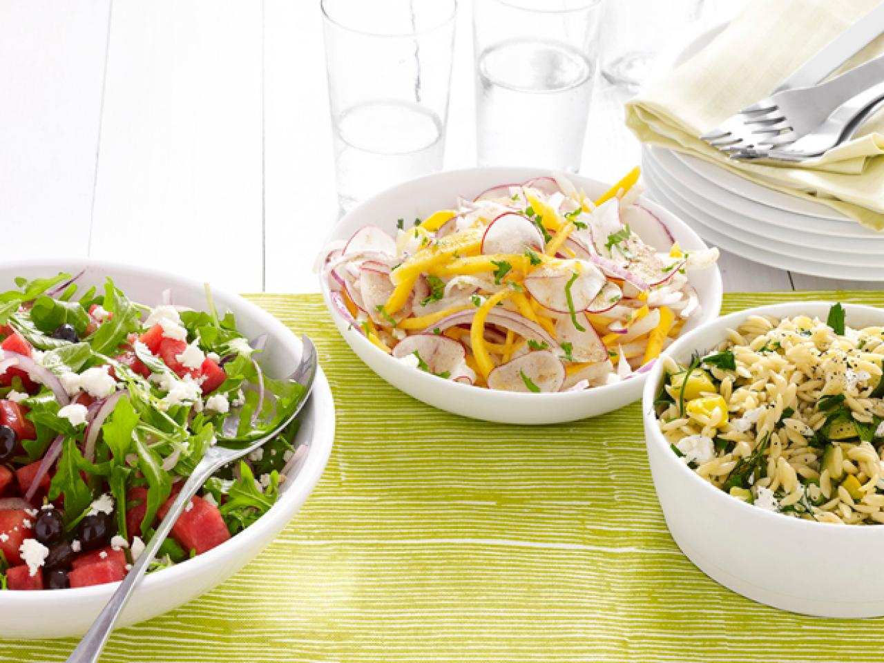 Lemon Orzo Salad Food Network