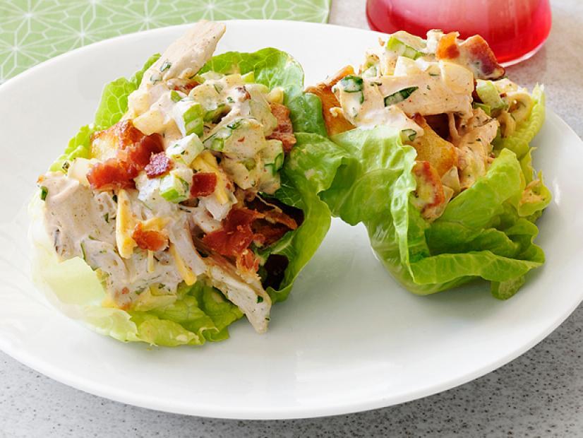 Picnic Potato And Chicken Salad Cups Recipe Sunny Anderson Food