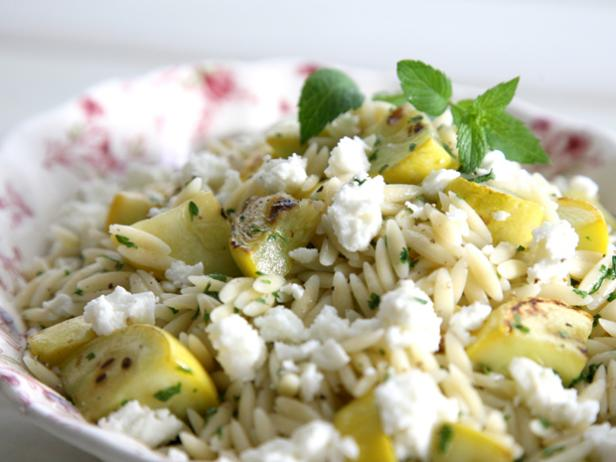 Minted Squash Orzo