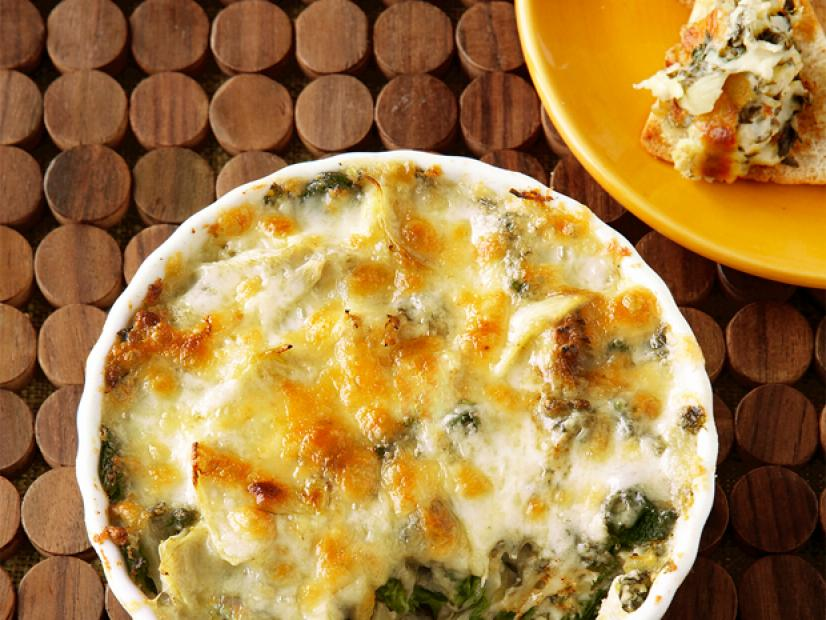 Hot Artichoke Spinach Dip Recipe Food Network Kitchen Food Network