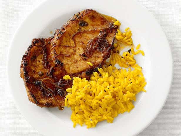 Chili Rubbed Pork Chops