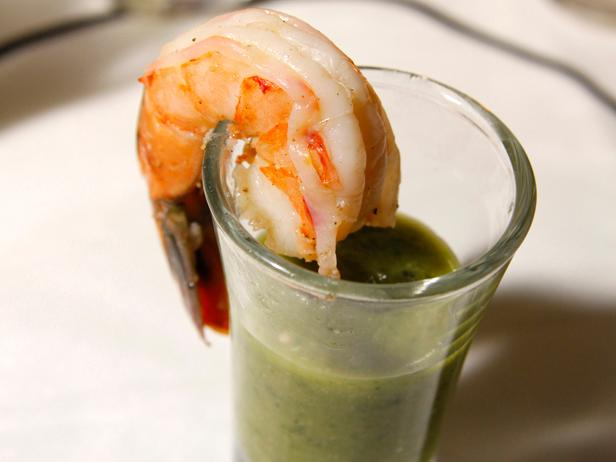 Shrimp-Tomatillo Cocktail
