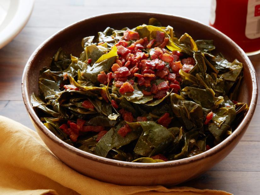 Southern Collard Greens Recipe Guy Fieri Food Network