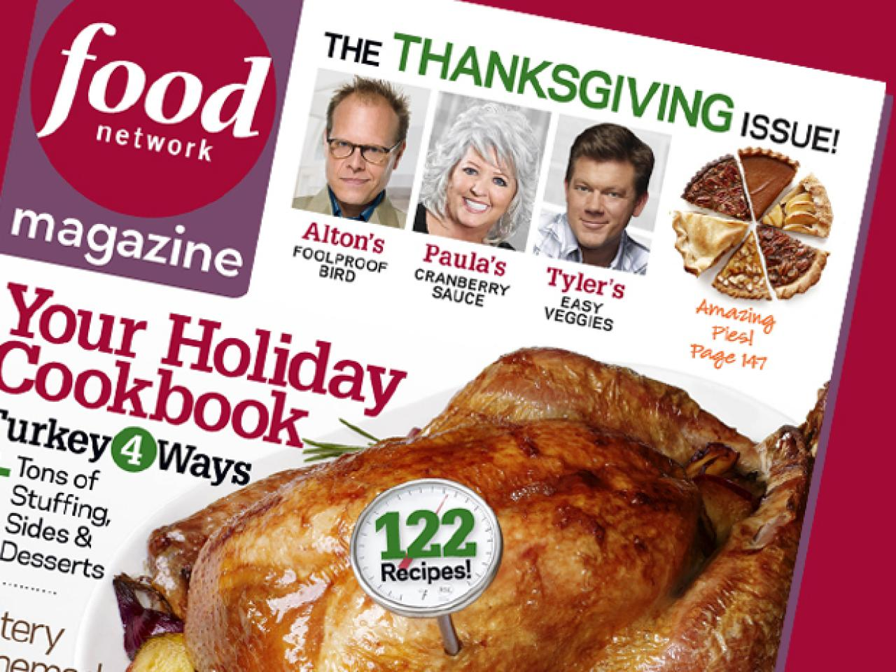 food network magazine november 2010 recipe index recipes and