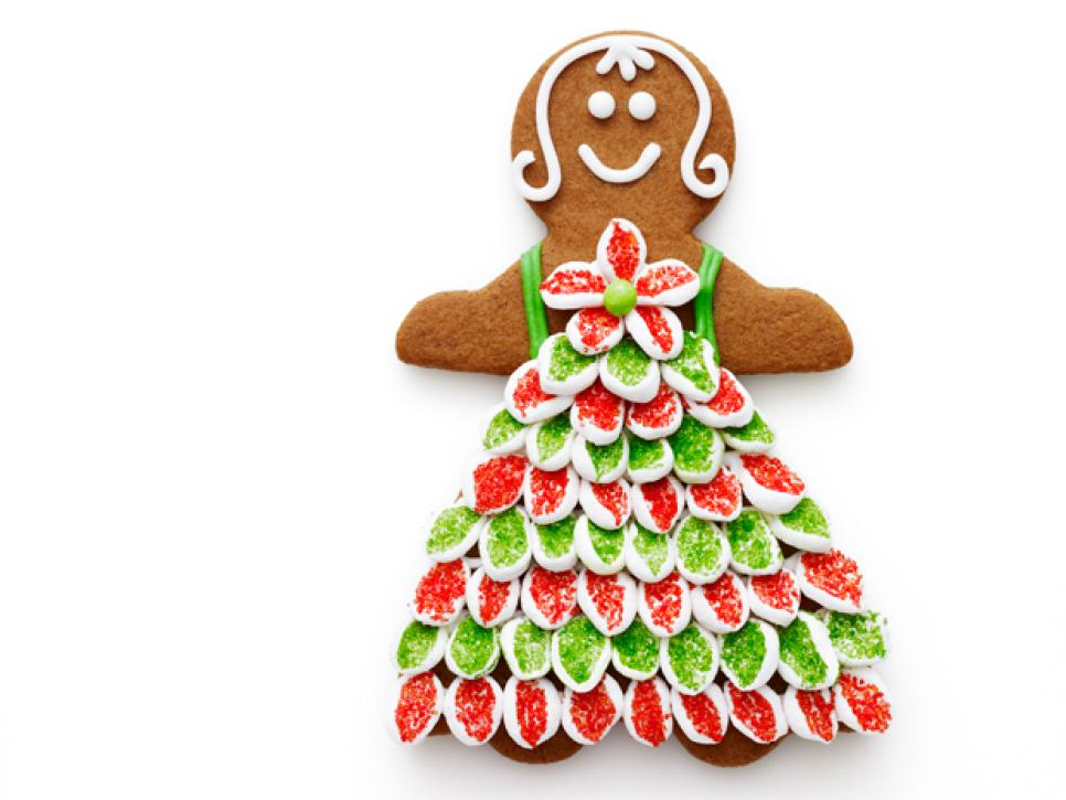 best dressed gingerbread recipes dinners and easy meal ideas food network - Gingerbread Christmas Decorations
