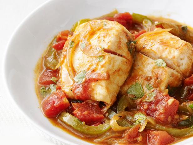 Portuguese style fish stew recipe food network kitchen for Portuguese fish stew