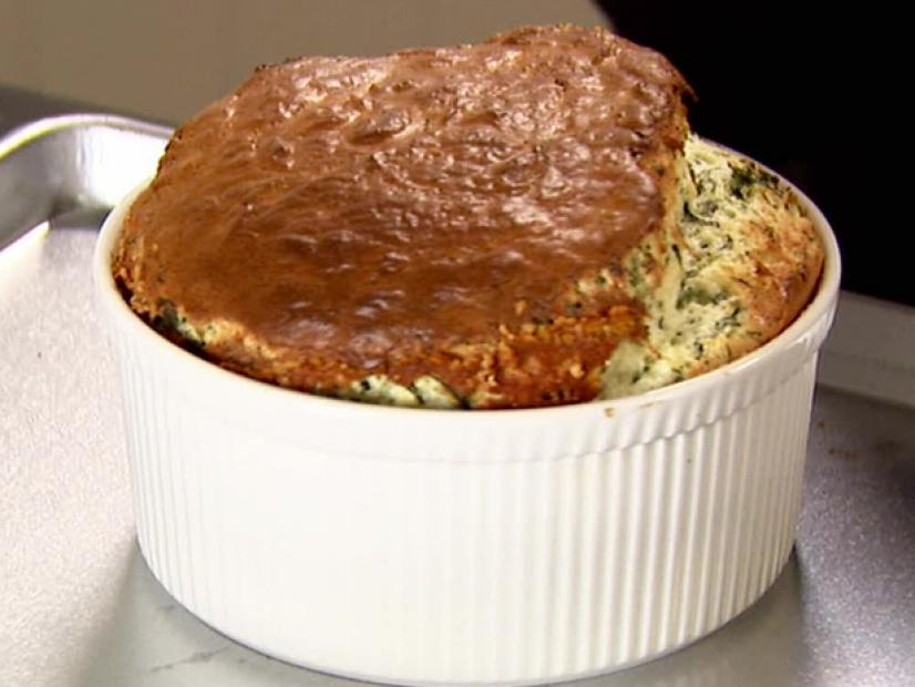 Spinach And Cheddar Souffle Recipe