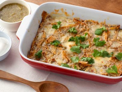 Breakfast casserole recipe food network kitchen food network chile cheese casserole recipe courtesy of food network kitchen forumfinder Image collections