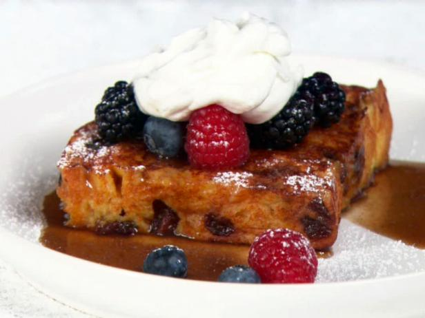 Panettone French Toast Recipe Giada De Laurentiis Food Network