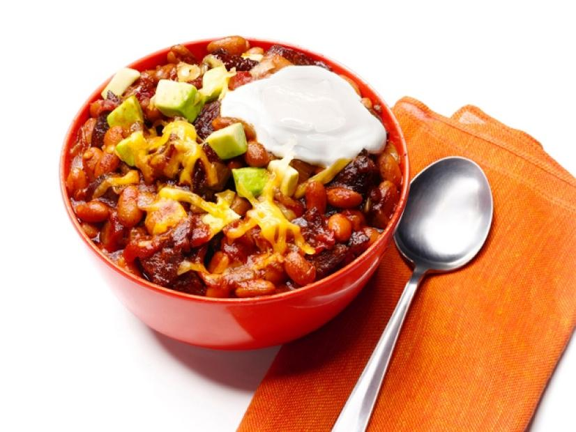 Bean And Beef Chili Recipe Food Network Kitchen Food Network
