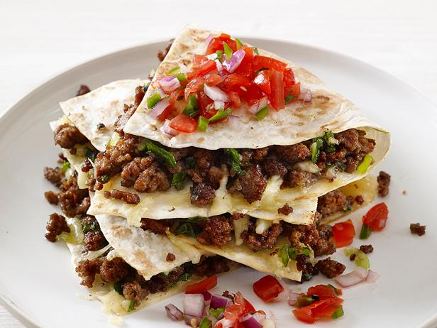 Meaty Quesadillas