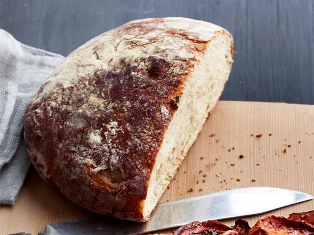 No knead peasant bread recipe food network kitchen food network no knead peasant bread forumfinder Choice Image