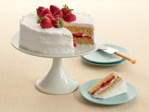 Diner-Style Strawberry Shortcake
