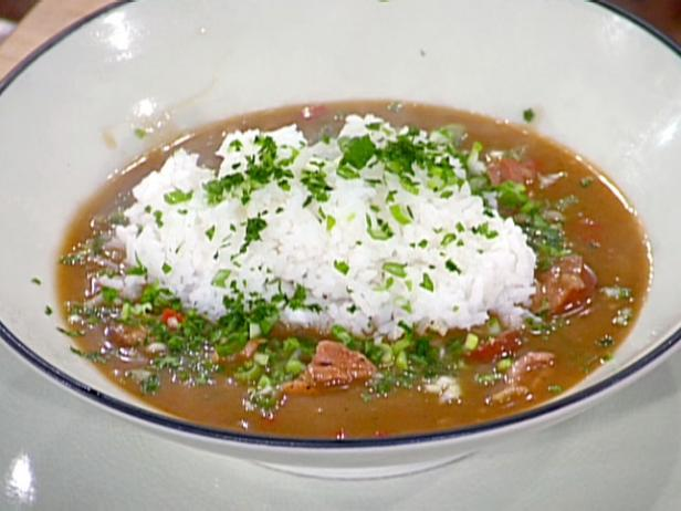 Chicken And Smoked Sausage Gumbo Food Network