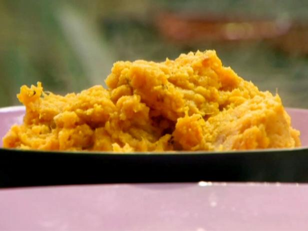 Orange Scented Mashed Sweet Potatoes