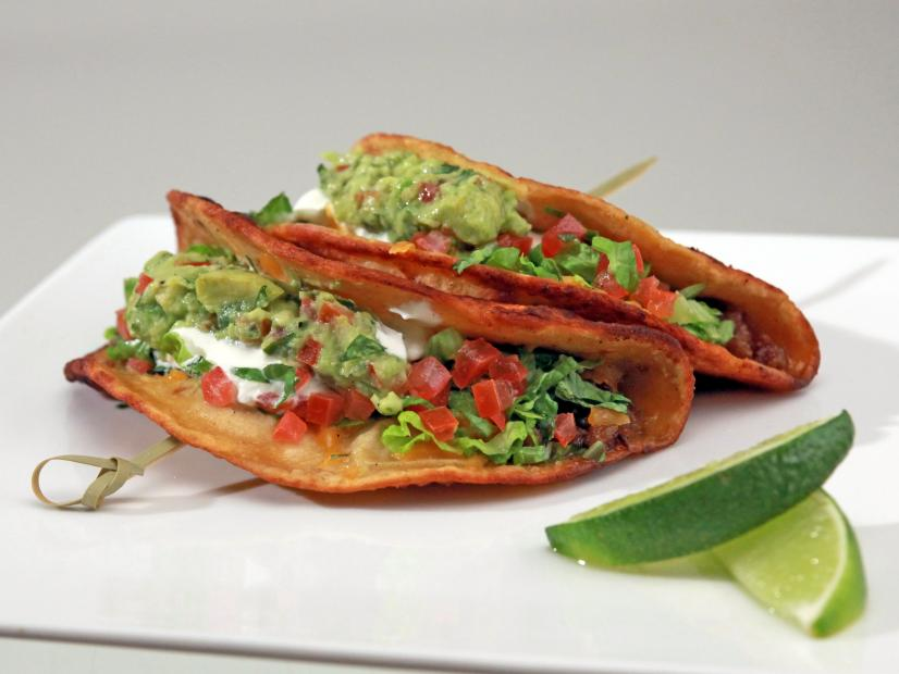 Corn Tortilla Tacos With Ground Turkey Recipe Darrell Das Smith Food Network