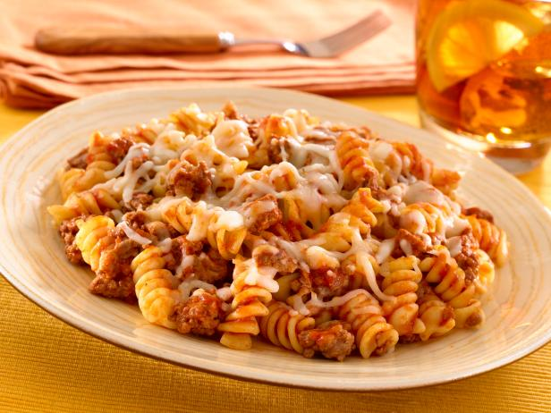 Skillet pasta and beef dinner recipe food network skillet pasta and beef dinner forumfinder Images