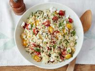 orzo salad is nutritious and flavorful