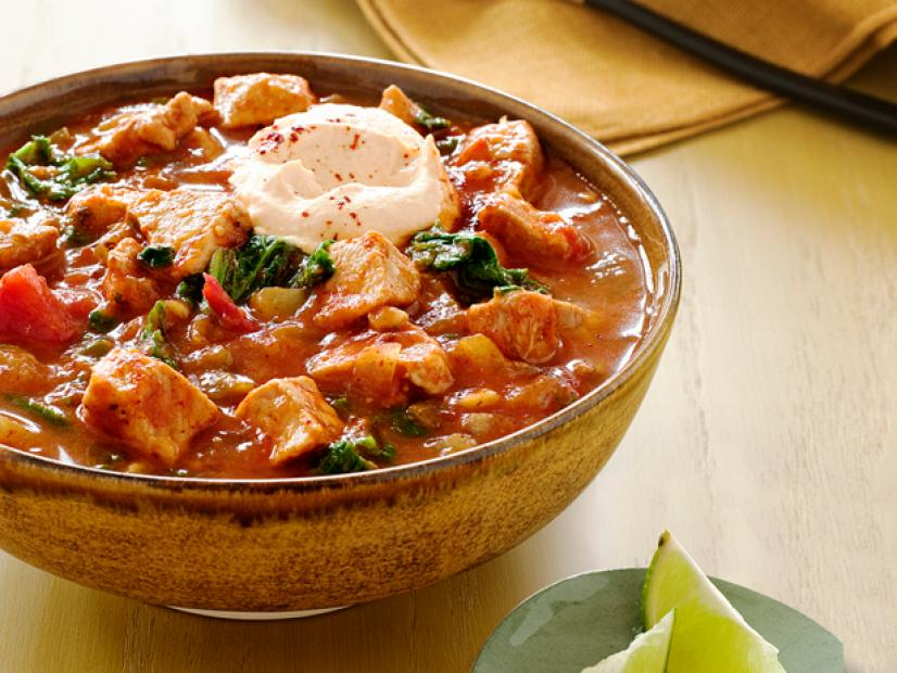 Pork And Pumpkin Chili Recipe Food Network Kitchen Food Network