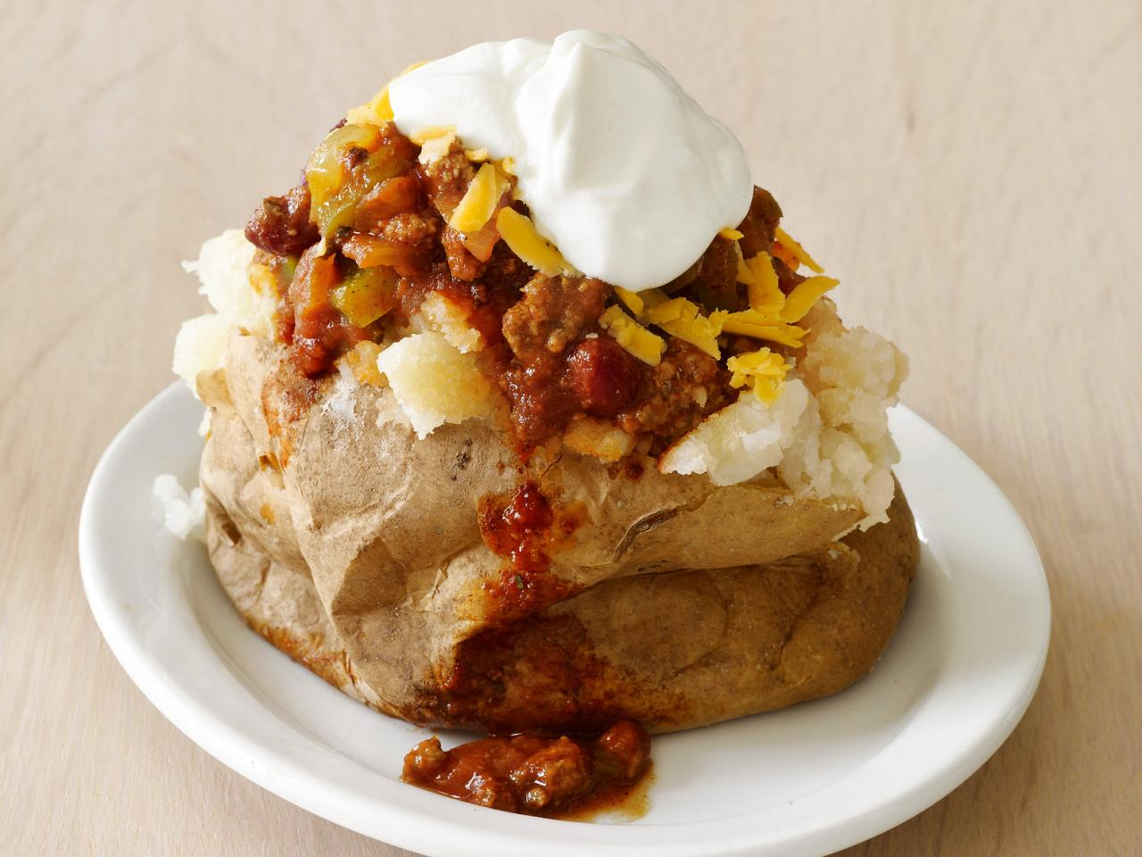 Food Network Baked Potato Cake
