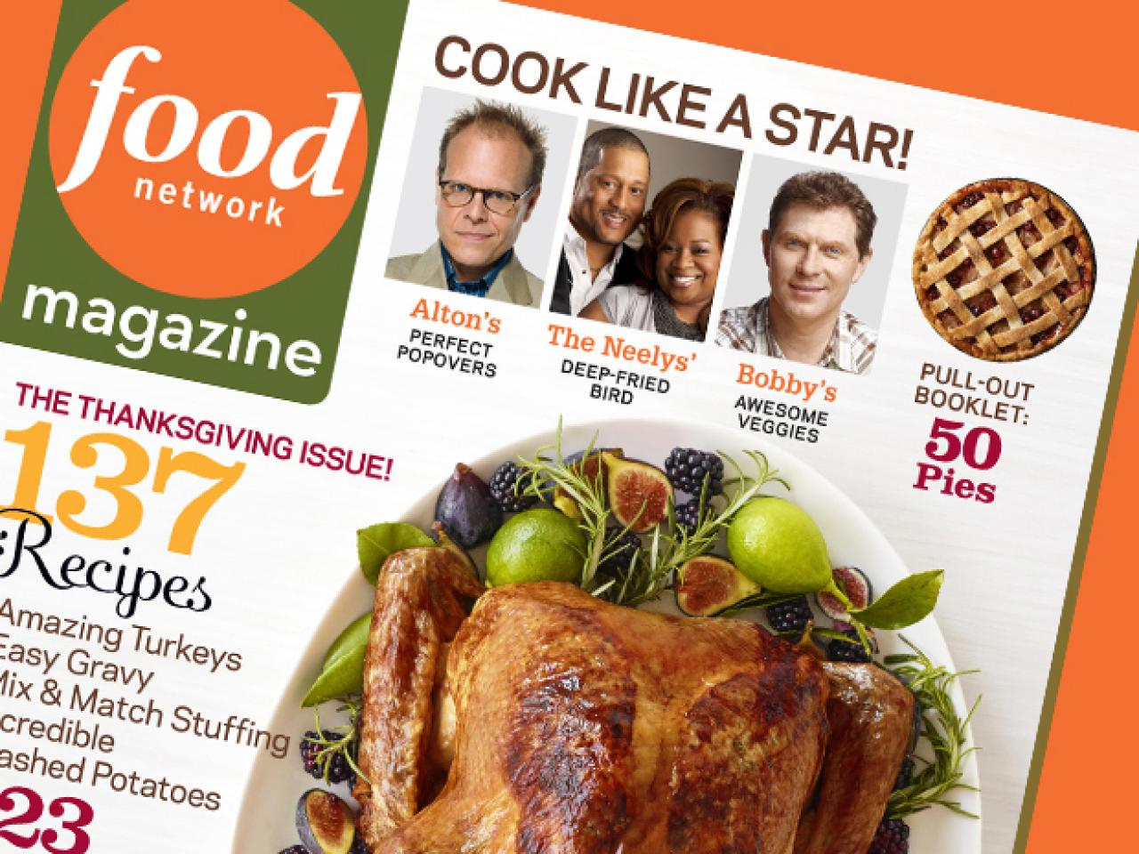 food network magazine november 2011 recipe index recipes and