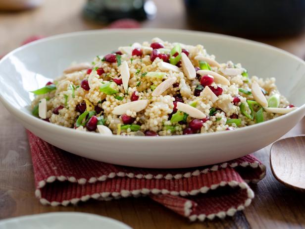 Pomegranate quinoa pilaf recipe kelsey nixon food network pomegranate quinoa pilaf forumfinder Choice Image