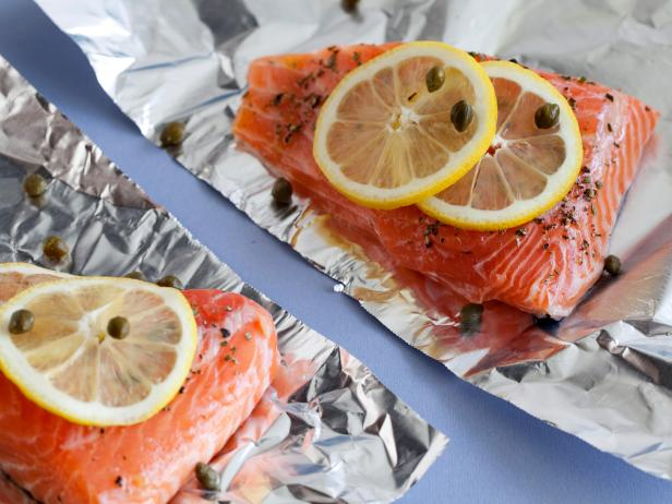 5 healthy salmon recipes food network healthy eats recipes ideas add some heart healthy salmon into your weeknight meal plan here are 5 easy ways to prepare this healthy and sustainable omega 3 packed fish forumfinder Gallery